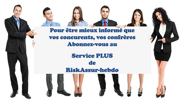 Un nouveau service proposé par RiskAssur : Le Service PLUS de RiskAssur-hebdo