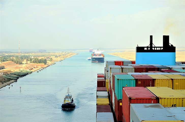 Le blocage du canal de Suez par l��chouement d�un navire a pris fin le 29 mars