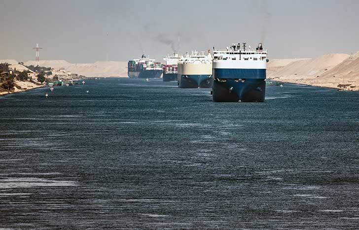 Le blocage du canal de Suez par un porte-conteneurs géant se termine sur le terrain juridique
