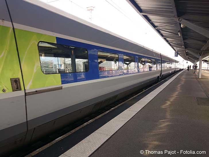 Alors que les TGV sont le moyen de transport rapide de l�Europe � ce n�est pas le cas actuellement
