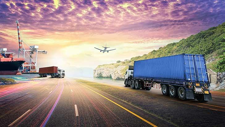 Le transport de marchandises est une source d'émission de gaz à effet de serre à de réduire