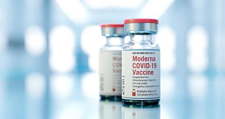 Le second vaccin ARS messagers celui de Moderna arrive enfin en ville