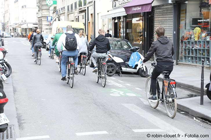 Le v�lo peut �tre solution de la mobilit� en ville de demain