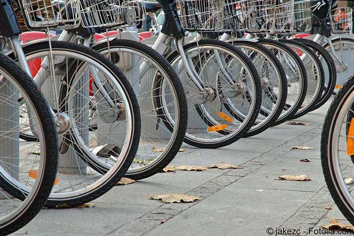L'occasion a été donnée à Lyon de mettre en valeur le service de location de vélos