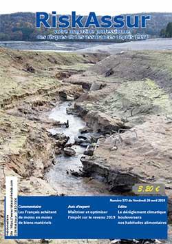 Num�ro 573 du magazine RiskAssur-hebdo du Vendredi 26 avril 2019