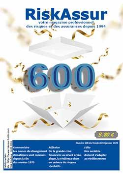 Num�ro 600 de RiskAssur-hebdo du Vendredi 10 janvier 2020