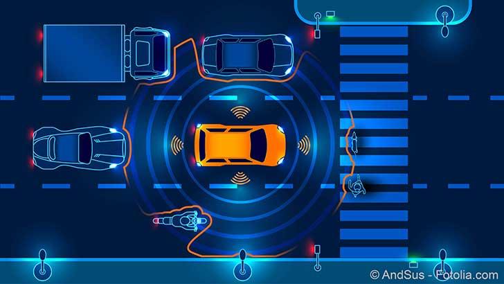 Attention aux voitures autonomes qui arrivent en ville
