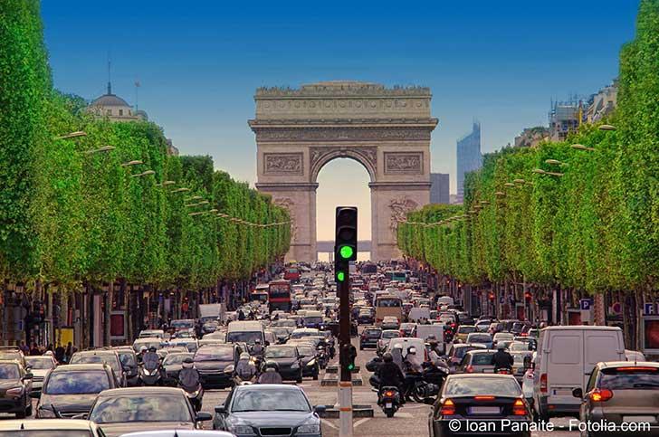 Pour la mobilité et la pollution des villes européennes Paris est à la 7ème place sur 13