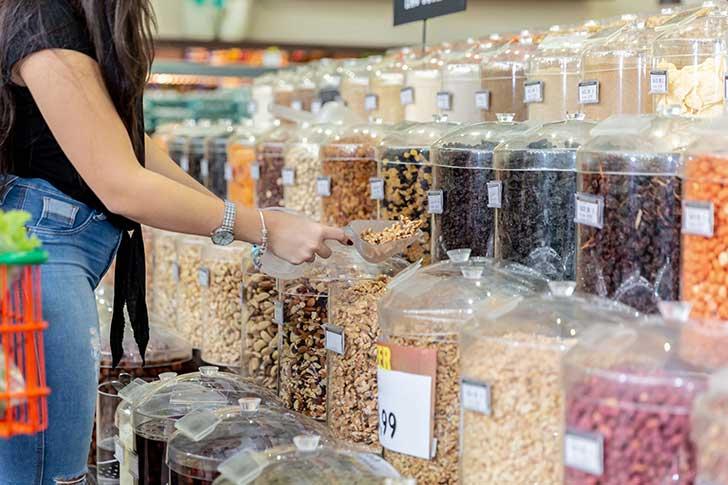 La vente des produits en vrac est loin d'entrer volontairement dans les mœurs