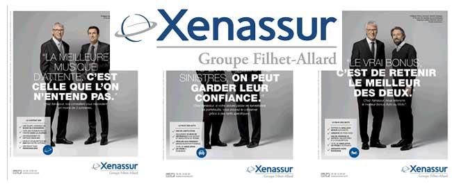 Nouvelle campagne publicitaire de Xenassur